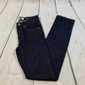 NEW Grana dark denim mid rise Stretch jean